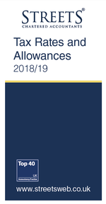 Tax Rates & Allowances 2018/19