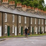 terraced houses in the country