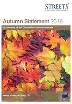 A Guide to The Autumn Statement 2016