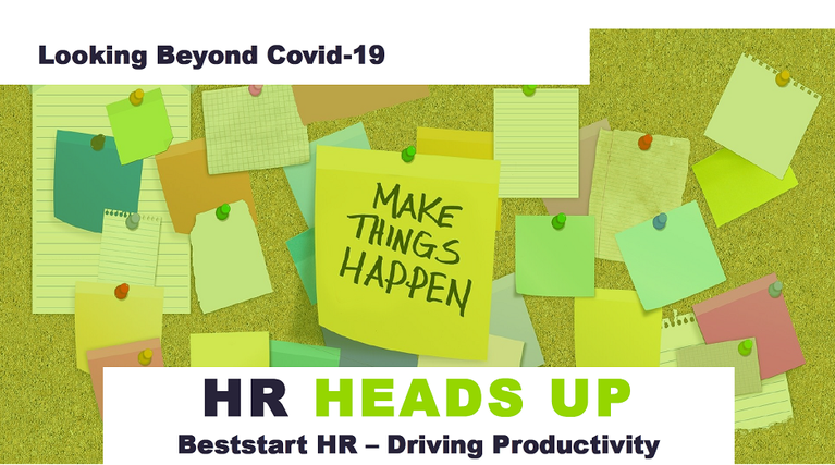HR Heads Up - Looking Beyond Covid-19