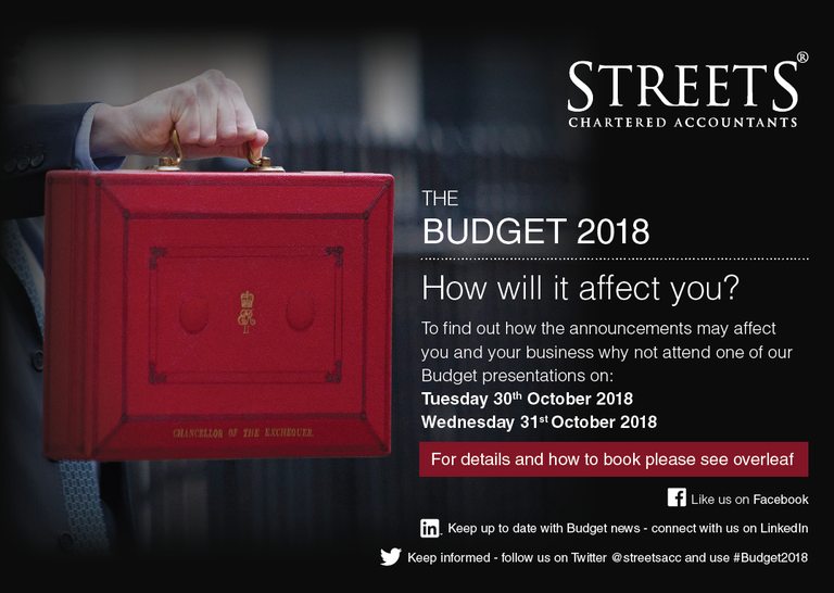 The Budget 2018