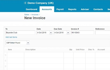 How To  Raise Sales Invoices Quickly In Xero  Streets Chartered